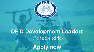 OFID Development Leaders Scholarship 2018
