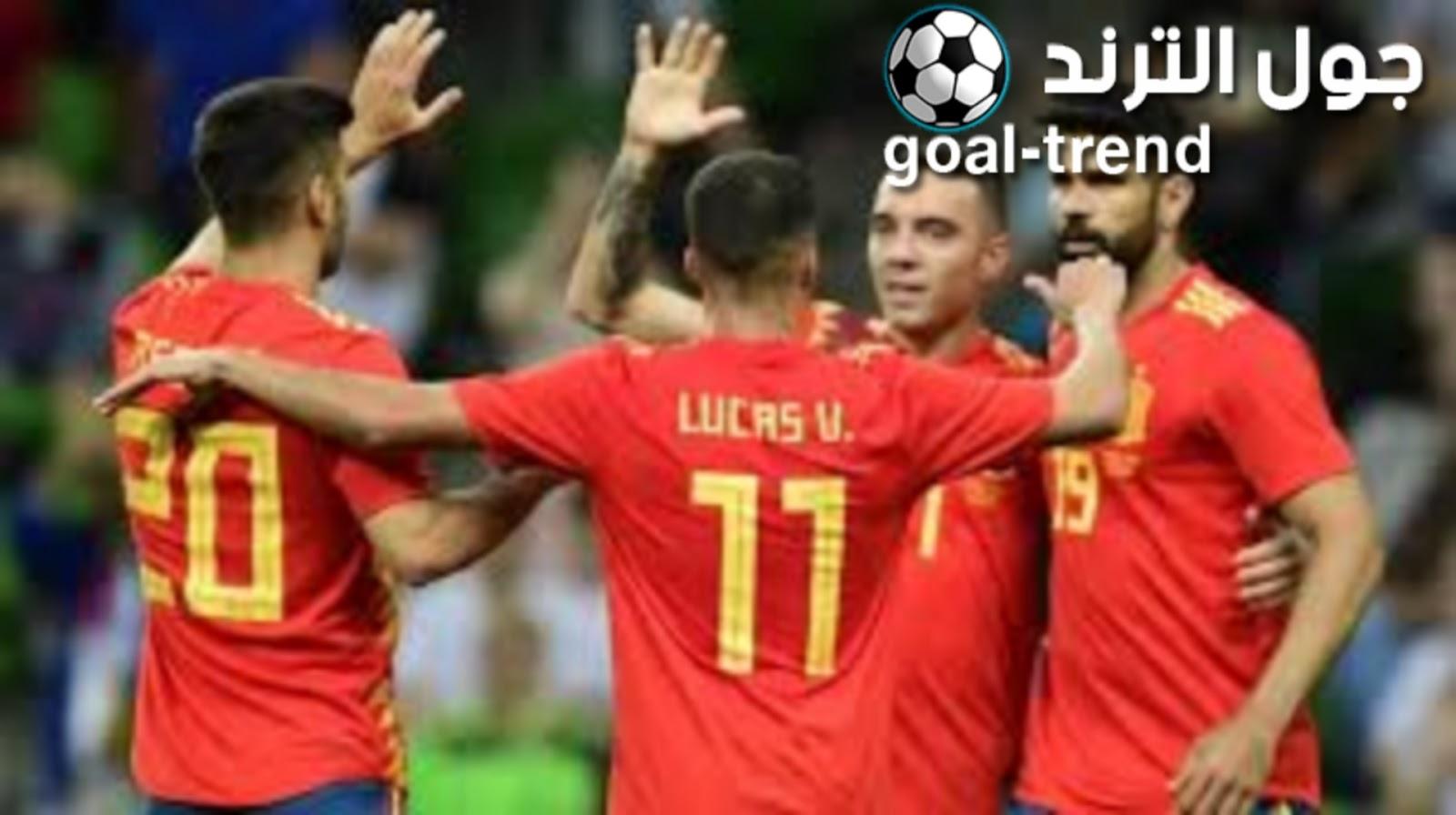 نتيجة لقاء منتخب جزر فارو ومنتخب اسبانيا يوم الجمعة في التصفيات المؤهلة ليورو 2020