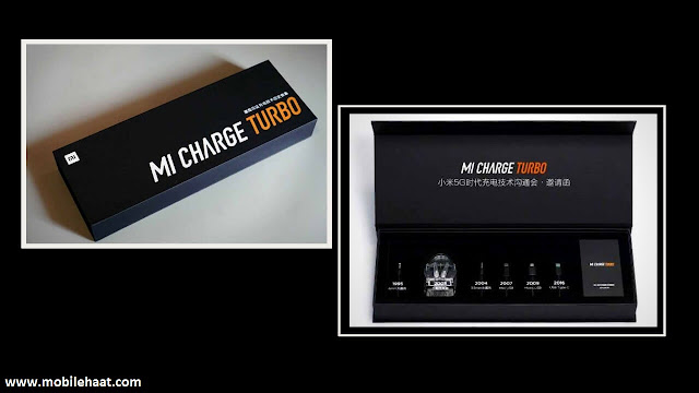 Xiaomi Mi Charge Turbo fast charging technology do unveil on Monday
