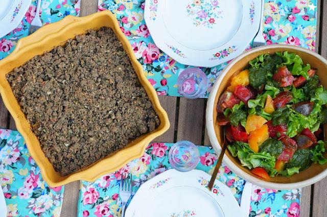crumble courgette noisette vegan sans gluten recette d'été