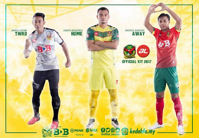 Jersi Kedah 2017 by AL Sports