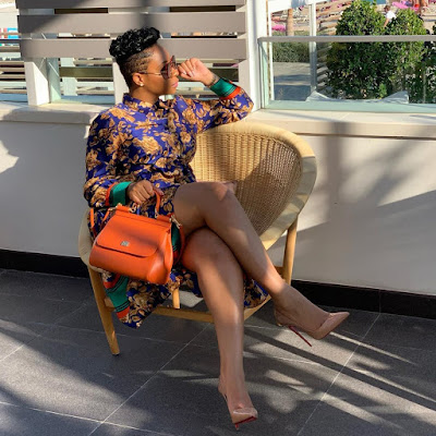 Pokello Nare recent style looks