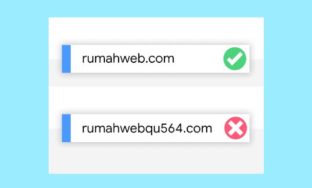 Memanfaatkan domain untuk bisnis - mudah diingat