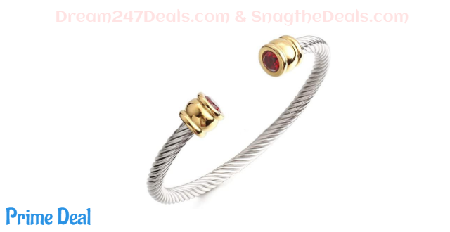 50%OFF Cable Cuff Bracelets for Women