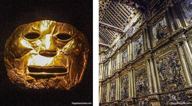 Museu do Ouro e Igreja de São Francisco, em Bogotá, Colômbia