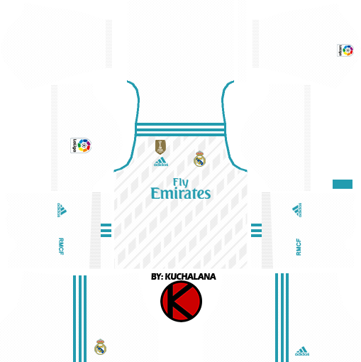 sale retailer 06a72 52f0f Real Madrid Kits 2017/2018 - Dream League Soccer - Kuchalana