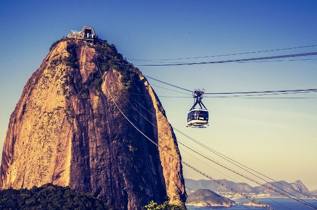 Bondinho do Morro da Urca e Pão de Açúcar no Rio de Janeiro