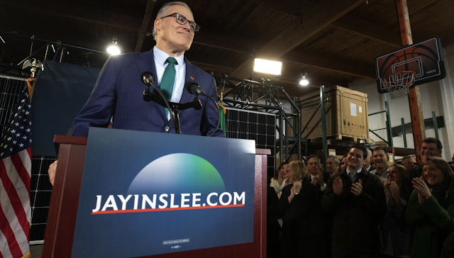 Jay Inslee announces climate-focused 2020 presidential run. Does he stand a chance?