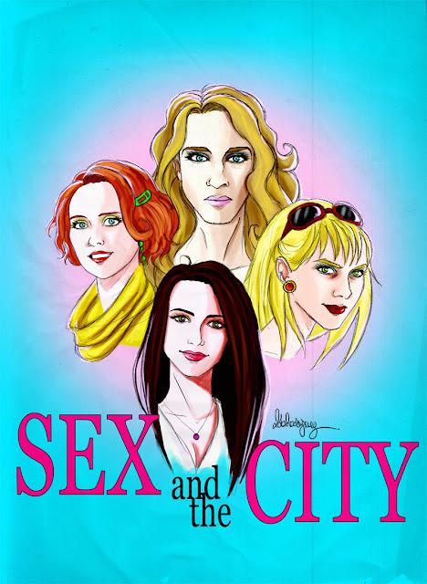 Carteles de Sexo en Nueva York.