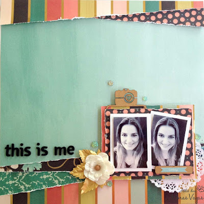 scrap scrapbooking scrapbook market street my mind's eye LO this is me