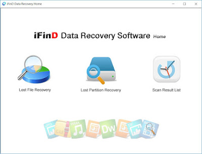 Screenshot iFind Data Recovery Home 3.5 Portable
