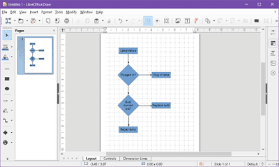 LibreOffice Draw free flowcharting software