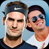 Selfie with Roger Federer: Roger Federer Wallpaper for Android