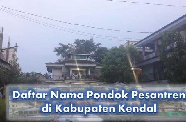 Pondok Pesantren di Kabupaten Kendal