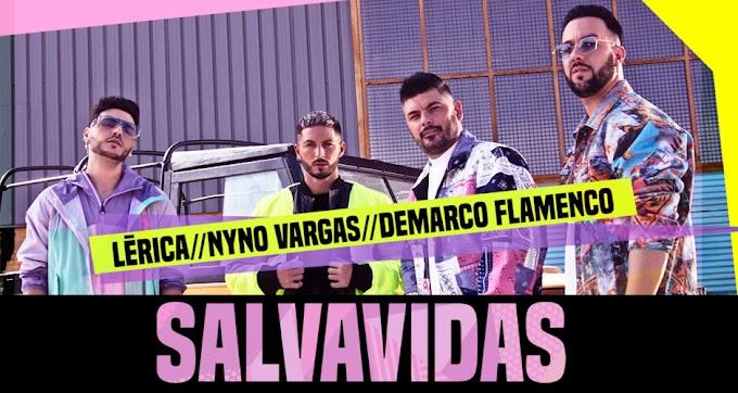 """Lérica se une a Nyno Vargas y Demarco Flamenco para presentarnos """"Salvavidas"""", su nuevo single"""
