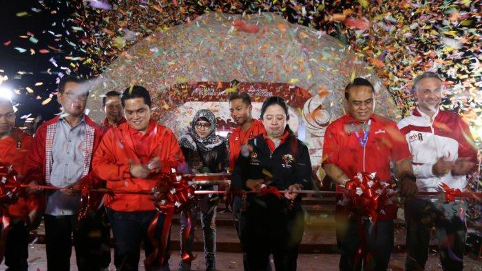 """Menko PMK Resmikan """"Rumah Indonesia Untuk Asian Games 2018"""""""
