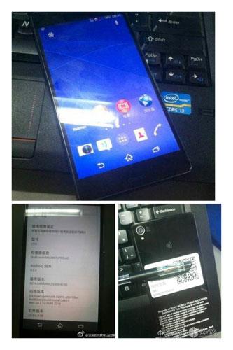 Ini Dia Penampakan Sony Xperia Z3 L55t