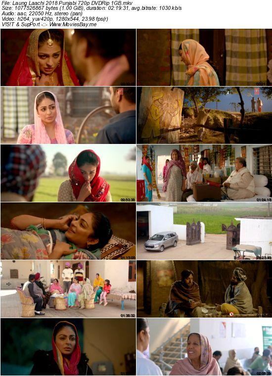 Laung Laachi 2018 Punjabi 720p DVDRip 1GB