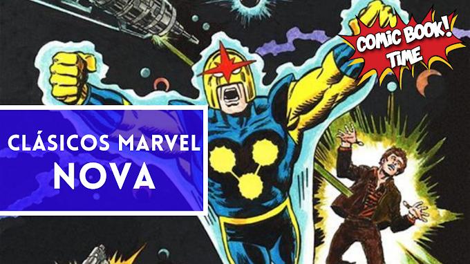"""Clásicos Marvel: """"Nova"""" de Marv Wolfman"""