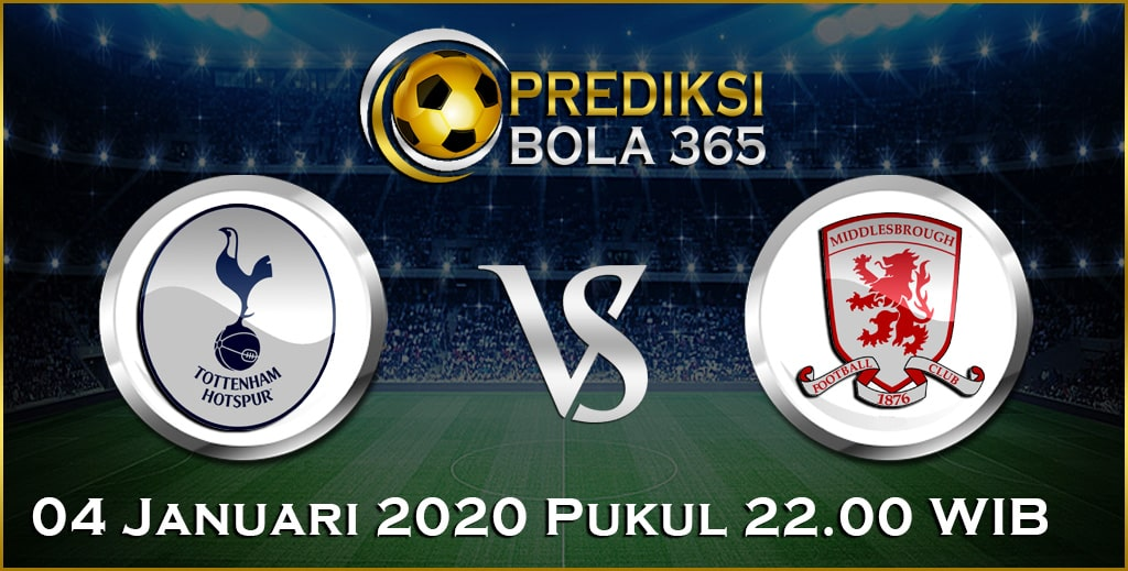 Prediksi Skor Bola Middlesbrough vs Tottenham Hotspur 04 January 2020