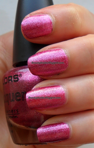 LA Colors Metallic Pink