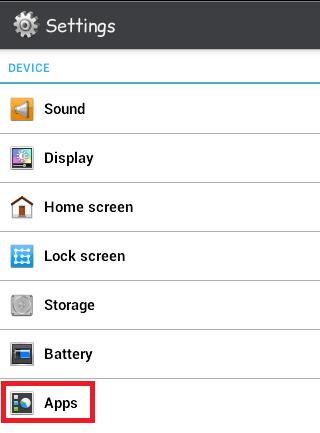 melihat aplikasi yang terinstal di android