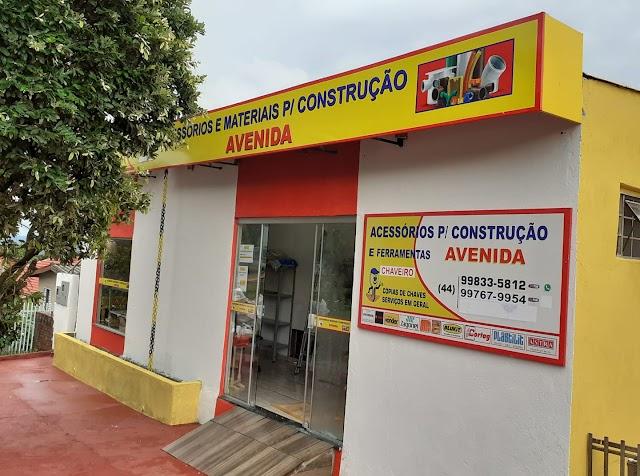 Av. Zacarias de Góes em Eng. Beltrão conta com nova loja de acessórios e materiais de construção