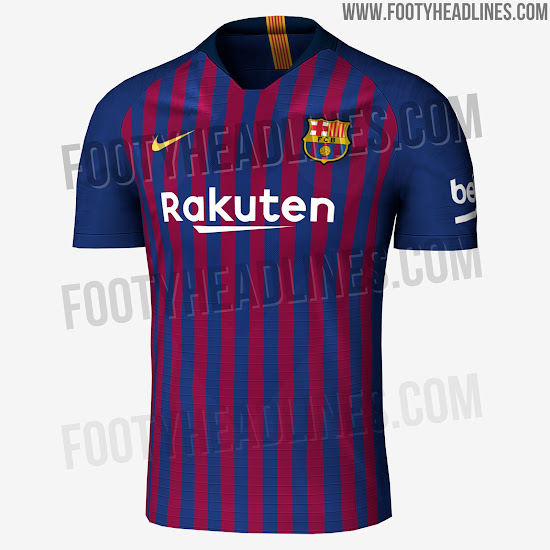 2a8cda40a 6 Nike 18-19 Kits Leaked. FC Barcelona