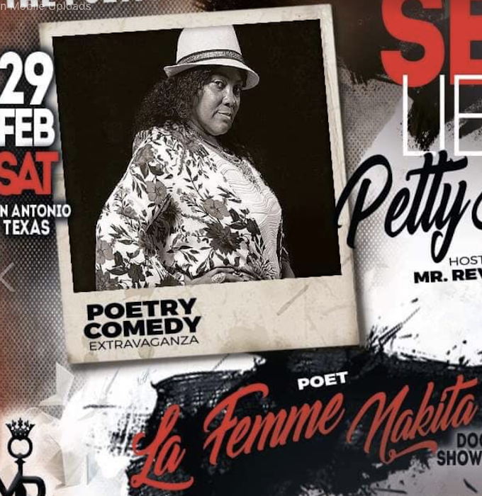 Poet La Femme Nakita to Continuing to Perform in San Antonio in 2020