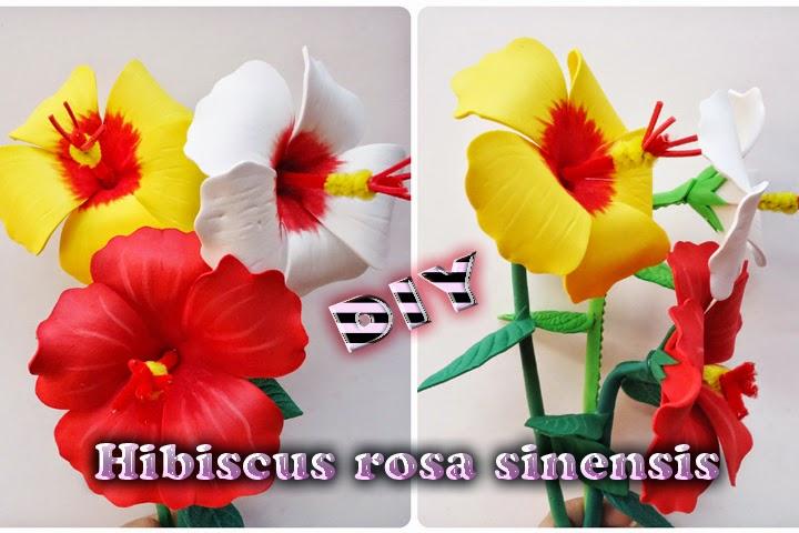Flores Para Adornar Eventos Hecha De Goma Eva Foamy Micro Poroso