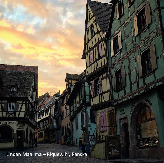 Alsacen viinireitti Riquewihr