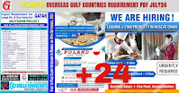 Overseas Gulf Countries Requirement PDF July24