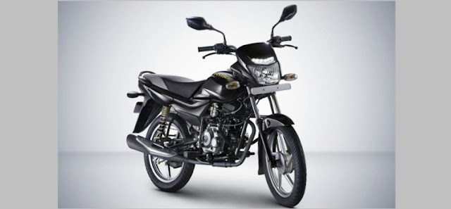 New 2018 Bajaj Platina Comfortec Black color 7