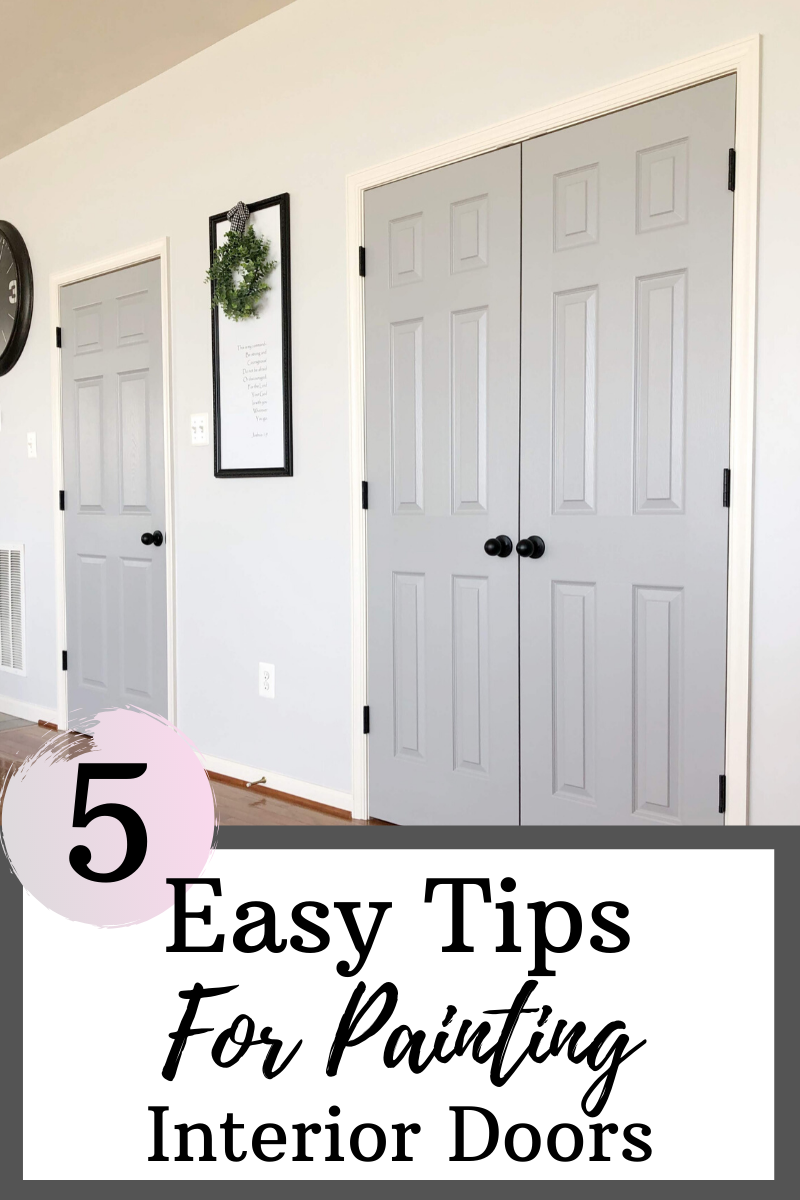 5 Easy Tips For Painting Interior Doors