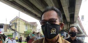 Ketua DPRD Lampung Datangi Lokasi Korban Hanyut di Pasar Tugu