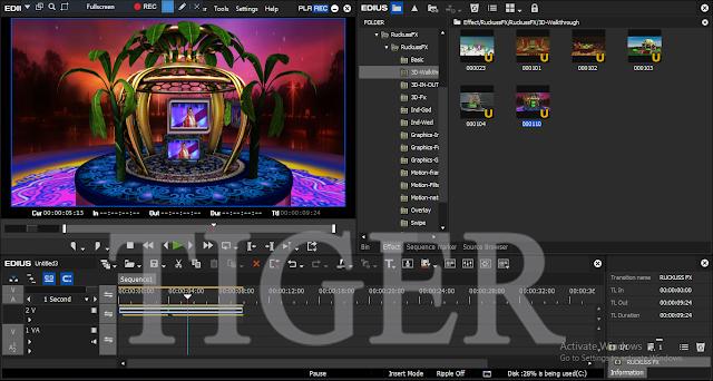 Ruckuss fx Crack for Edius 7,8,9 effects plugins download tigerajmer