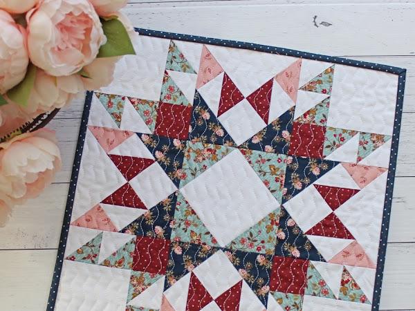 Mary Mini Quilt PDF Pattern