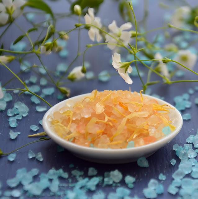 Homemade sugar face scrub for glowing skin