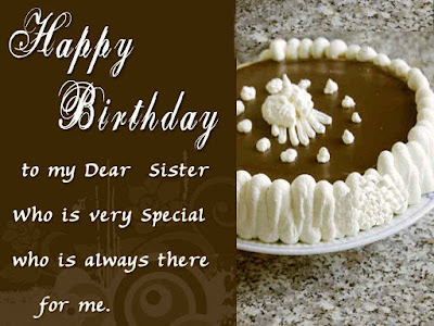 birthday wishes for my sister