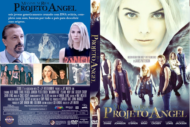 Capa DVD Maximum Ride Projeto Angel