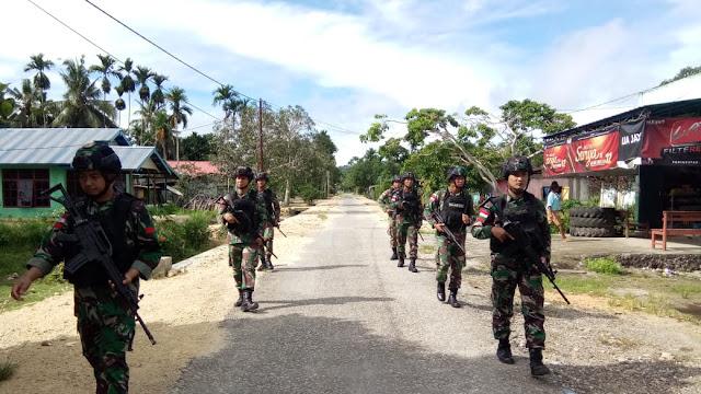 Satgas Raider 300 Jaga Keamanan Serta Ketertiban Masyarakat