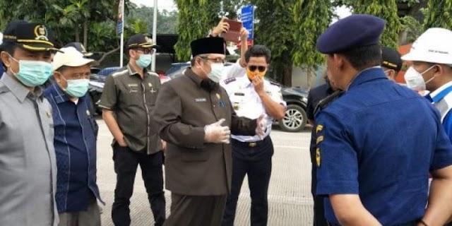 Komisi IV DPRD Lampung Tinjau Simpul Transportasi Publik Tangani Covid-19