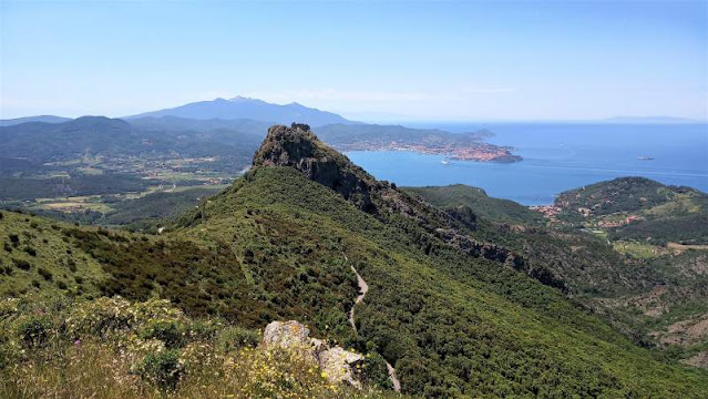 isola d'Elba nell'arcipelago toscano