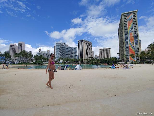 Hilton Lagoon and Kahanamoku Beach