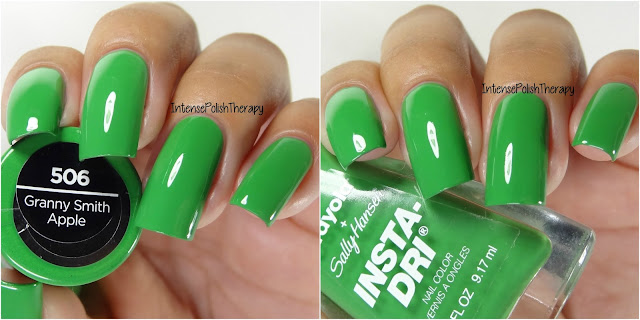 Sally Hansen + Crayola - Granny Smith Apple