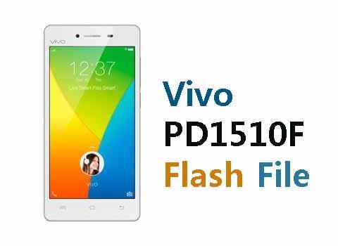 Vivo Y51L Flash File (PD1510F) Stock Firmware ROM