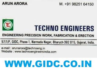 TECHNO ENGINEERS - 9825164150