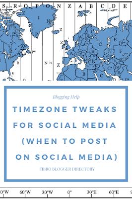 Timezone Tweaks for social media (when to post on social media)