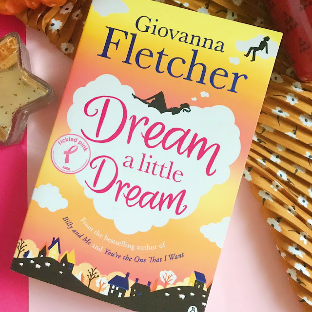 Dream a little dream by giovanna fletcher on pink background