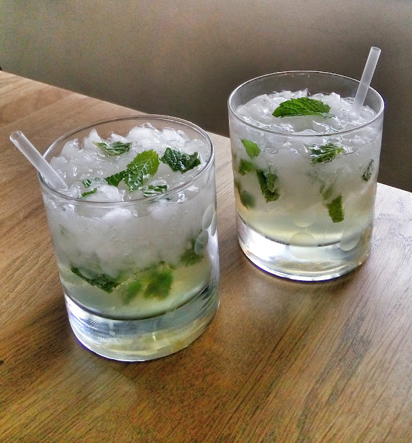 faux mojitos for those who don't drink alcohol